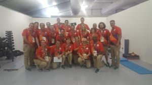 Tverrfaglig behandler team i RIO OL